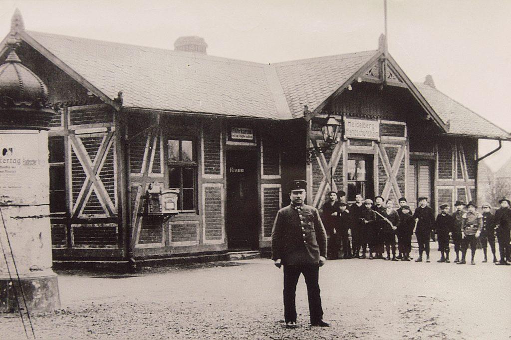 OEG-Bahnhof 1915