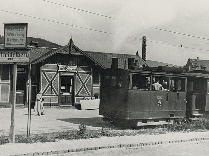 OEG Station, 1940