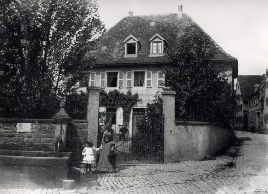 The Old rectory, before 1900