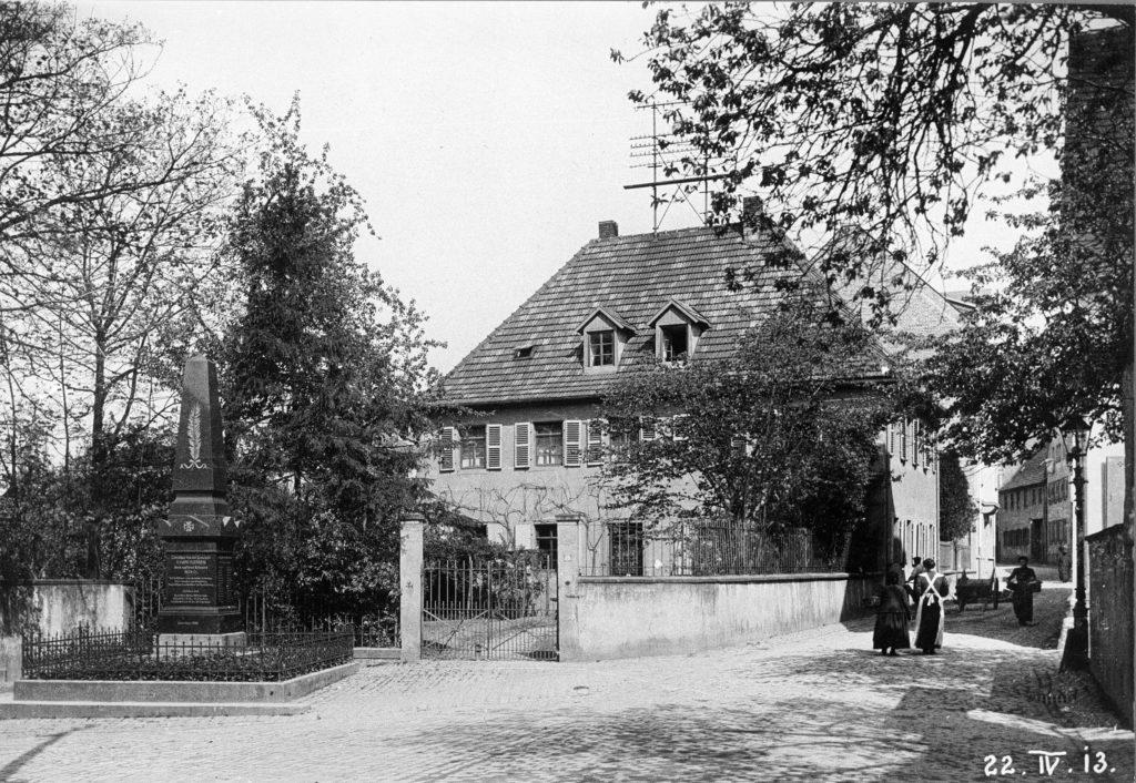 Altes Pfarrhaus 1913