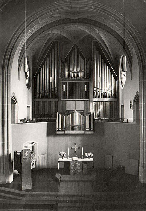 Friedenskirche - Zustand nach Renovierung 1960 (Photo: Friedensgemeinde)