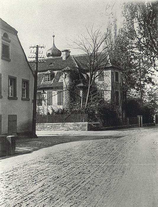 1904 Ansicht von Osten