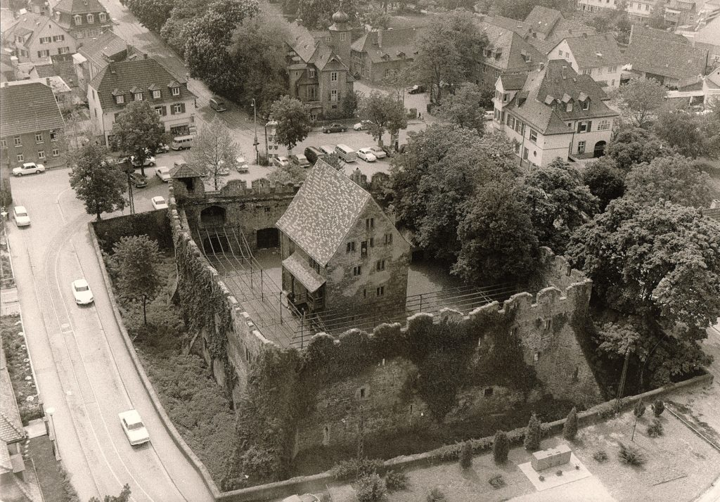 Handschuhsheim Tiefburg 1970