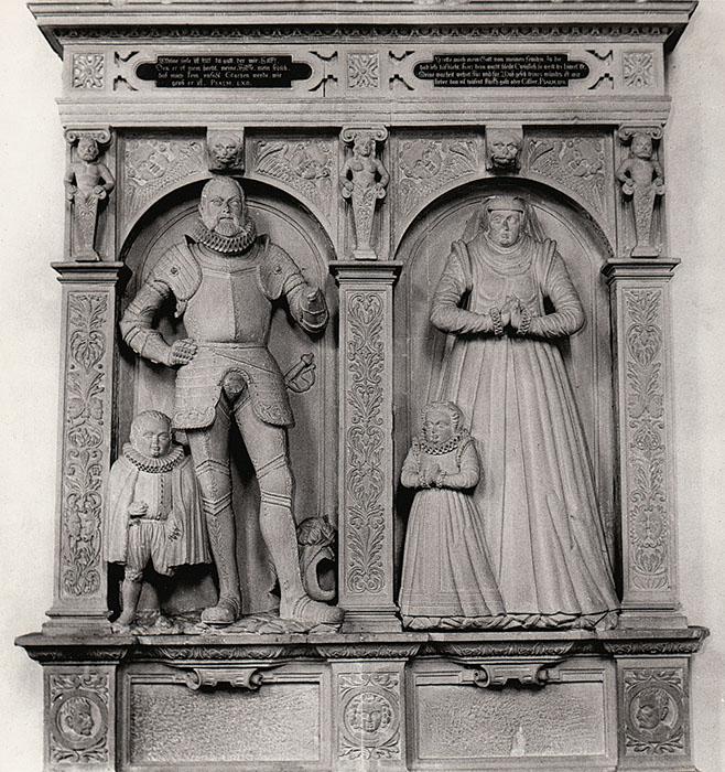 Grabstein Eltern von Hans und Barbara